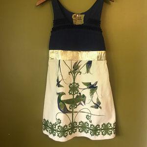 Vintage Free People Bird Dress